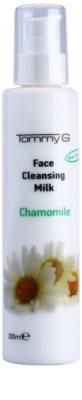 Tommy G Chamomile Line čisticí mléko na obličej s výtažkem z heřmánku