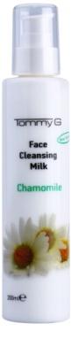 Tommy G Chamomile Line tisztító tej az arcra kamilla kivonattal