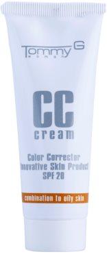 Tommy G CC Cream CC Cremă hidratantă mixt pentru ten gras SPF 20
