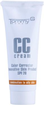 Tommy G CC Cream hydratační CC krém pro smíšenou až mastnou pleť SPF 20