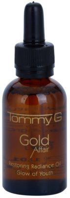 Tommy G Gold Affair kisimító hatású regeneráló olaj az élénk bőrért