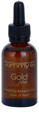 Tommy G Gold Affair відновлююча олійка з розгладжуючим ефектом для сяючої шкіри