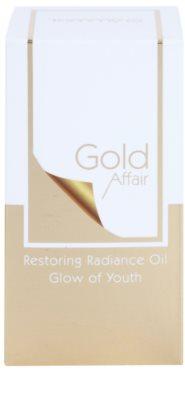 Tommy G Gold Affair kisimító hatású regeneráló olaj az élénk bőrért 2
