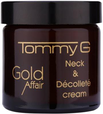 Tommy G Gold Affair crema pentru reintinerire pentru gat si decolteu