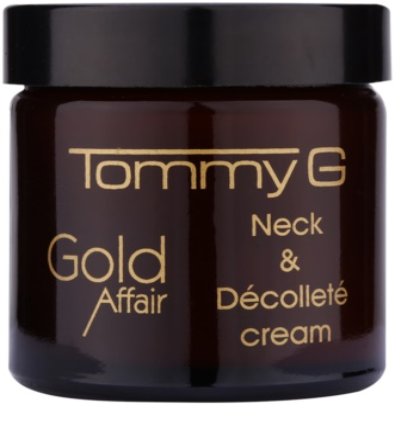 Tommy G Gold Affair fiatalító krém nyakra és a dekoltázsra