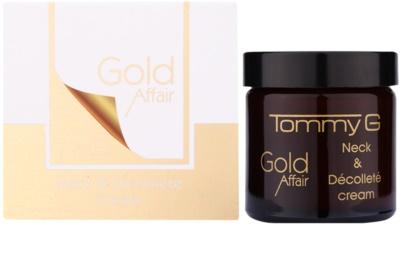 Tommy G Gold Affair verjüngende Creme für Hals und Dekolleté 1