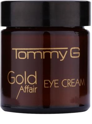 Tommy G Gold Affair rozjasňujúci očný krém na omladenie pleti