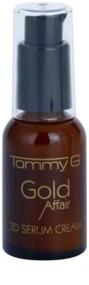 Tommy G Gold Affair кремообразен серум за регенерация и възстановяване на кожата