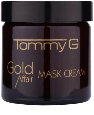 Tommy G Gold Affair vlažilna in posvetlitvena maska za občutljivo kožo