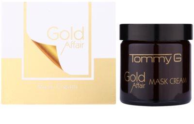 Tommy G Gold Affair Máscara hidratante e iluminadora para pele sensível 1