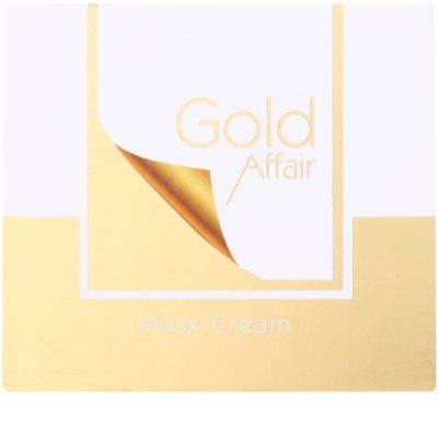 Tommy G Gold Affair Máscara hidratante e iluminadora para pele sensível 2