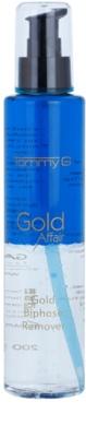 Tommy G Gold Affair demachiant in doua faze pentru produse rezistente la apa. pentru ochi sensibili