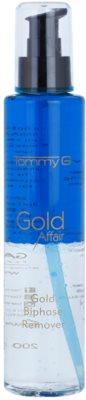 Tommy G Gold Affair Duo - Removedor de maquilhagem à prova d'água. para olhos sensíveis