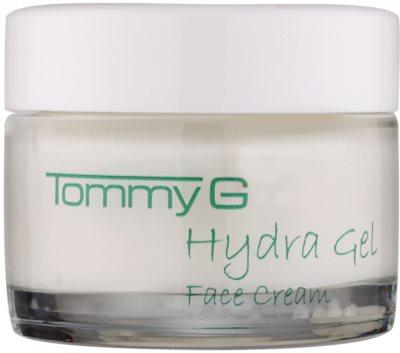 Tommy G Hydra Gel creme hidratante e nutritivo para todos os tipos de pele