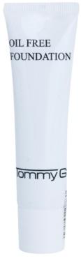 Tommy G Face Make-Up Oil Free podkład matujący podkład matujący do skóry tłustej i mieszanej