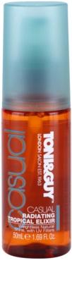 TONI&GUY Casual Verklärende Pflege für glänzendes und geschmeidiges Haar