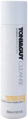 TONI&GUY Cleanse šampon za blond lase