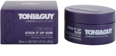 TONI&GUY Creative gel fijador extra fuerte  para cabello 1