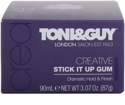 TONI&GUY Creative gel fijador extra fuerte  para cabello 3