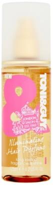 TONI&GUY Glamour spray iluminador perfumado para cabelos