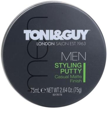 TONI&GUY Men восък за коса  за матиране 1