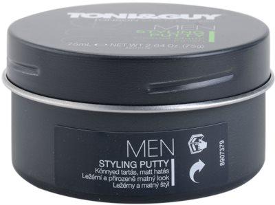TONI&GUY Men восък за коса  за матиране 3