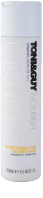 TONI&GUY Nourish Conditioner für blonde Haare