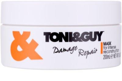 TONI&GUY Nourish mascarilla reparación para cabello maltratado o dañado