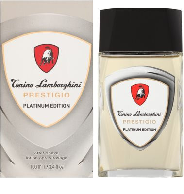 Tonino Lamborghini Prestigio Platinum Edition after shave para homens
