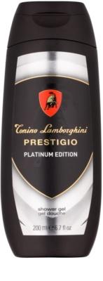 Tonino Lamborghini Prestigio Platinum Edition гель для душу для чоловіків