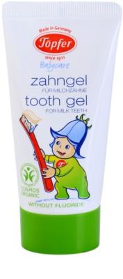 Töpfer BabyCare gel dental para niños