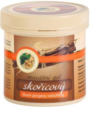 Topvet Body Care gel para masaje atenuante de celulitis