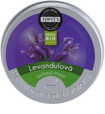 Topvet Body Care lawendowa maść ziołowa