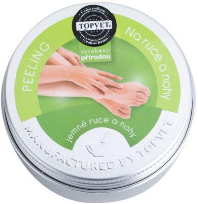 Topvet Body Care peeling pentru maini si picioare