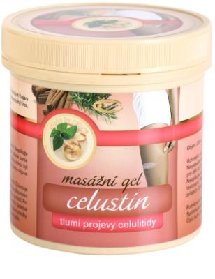 Topvet Celustin masážní gel tlumicí projevy celulitidy