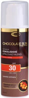 Topvet Chocolate Sun védőkrém napozásra SPF 30