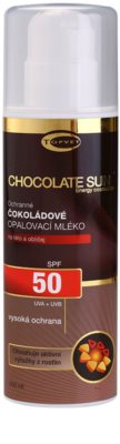 Topvet Chocolate Sun mleczko do opalania SPF 50