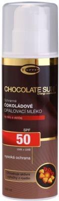 Topvet Chocolate Sun крем за тен SPF 50