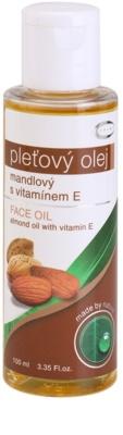Topvet Face Care óleo de amêndoas com vitamina E