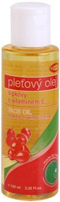 Topvet Face Care шипково масло с витамин Е