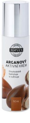 Topvet Face Care vyživující hydratační krém s arganovým olejem