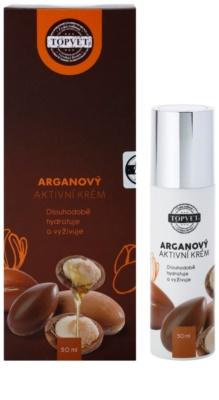 Topvet Face Care creme hidratante nutritivo com óleo de argan 1