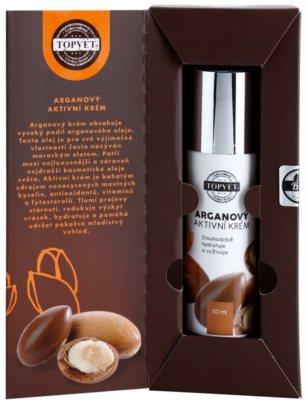 Topvet Face Care hranilna vlažilna krema z arganovim oljem 2