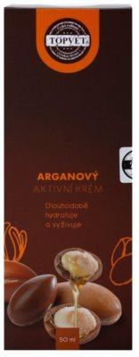 Topvet Face Care hranilna vlažilna krema z arganovim oljem 3