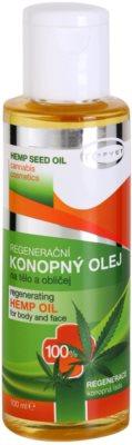 Topvet Hemp Seed Oil konopný olej na telo a tvár