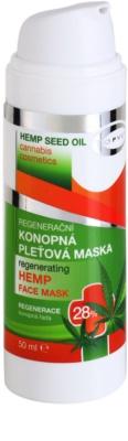 Topvet Hemp Seed Oil masca faciala regeneratoare pe baza de canepa 28% 1