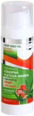 Topvet Hemp Seed Oil maseczka regeneracyjna z konopi  28%