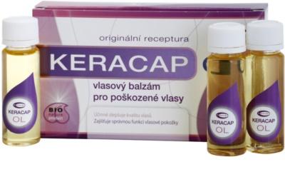 Topvet Keracap bálsamo de cabelo para cabelo danificado