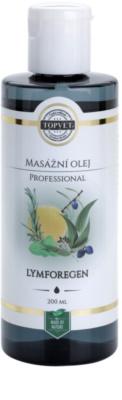 Topvet Lymforegen aceite para masaje - sistema linfático