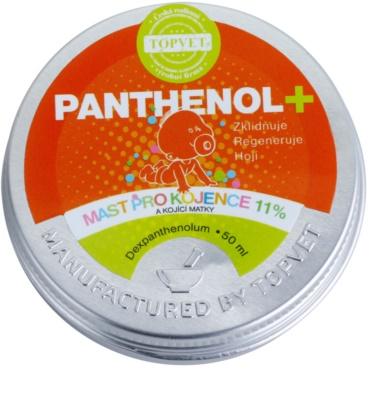Topvet Panthenol + Salbe für Säuglinge und stillende Frauen